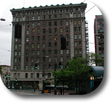 Picture Of The Frye Apartments Building